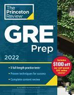Princeton Review GRE Prep, 2022