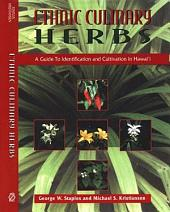Ethnic Culinary Herbs: A Guide to Identification and Cultivation in Hawai?i