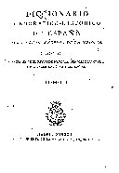 Diccionario geogrático-histórico de España: Volumen 1