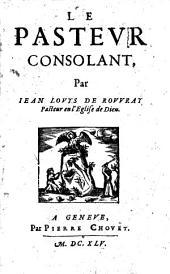 Le pasteur consolant