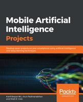 Mobile Artificial Intelligence Projects PDF