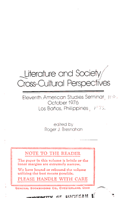 Literature and Society PDF