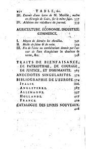L'Esprit des journaux, françois et étrangers. Par une société de gens-de-lettres: Septembre, 1782, Volume9