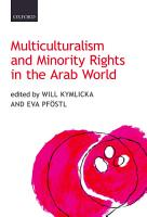 Multiculturalism and Minority Rights in the Arab World PDF