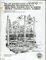 Use of Double-mass Curves to Determine Drawdown in a Long-term Aquifer Test in North-central Volusia County, Florida