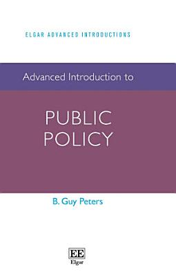 Advanced Introduction to Public Policy PDF