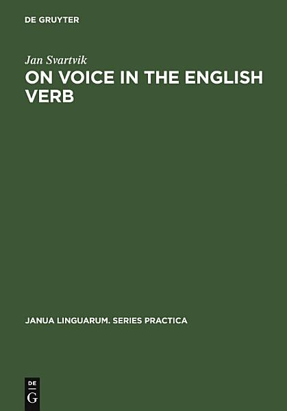 Download On Voice in the English Verb Book