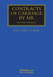 Contracts of Carriage by Air: Edition 2