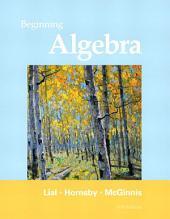 Beginning Algebra: Edition 11