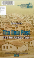 Pocket Guide to the New Post  Fort Sam Houston  Texas PDF