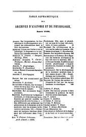 Archives generales de medecine: journal complementaire des sciences medicales