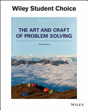 The Art And Craft Of Problem Solving Book PDF