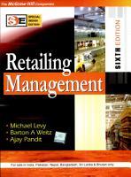 Retailing Management 6E  Sie  PDF