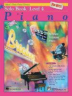Alfred's Basic Piano Course, Top Hits! Solo Book 4