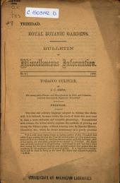 Bulletin of Miscellaneous Information: Volume 1, Issue 8