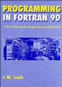 Programming in Fortran 90 PDF