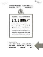 United States Census of Population  1950 PDF