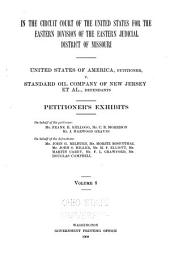 United States of America Vs. Standard Oil Company, and Others: Brief of the Law on Behalf of the Defendants, Standard Oil Company, and Others, Volume 8
