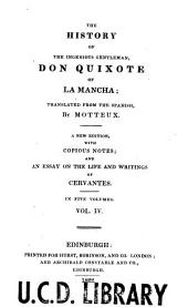 The History of the Ingenious Gentleman, Don Quixote of La Mancha ...