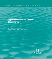 Spiritualism and Society  Routledge Revivals  PDF