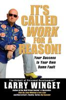 It s Called Work for a Reason  PDF