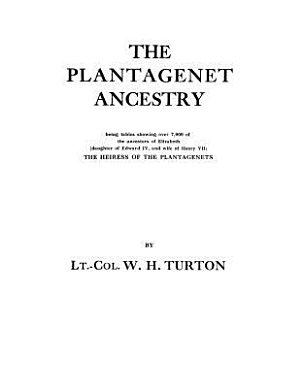 The Plantagenet Ancestry