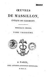 Oeuvres de Massillon,...
