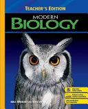 Modern Biology Book