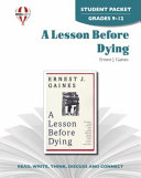 A Lesson Before Dying Student Packet Book