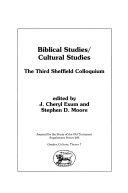 Biblical Studies  Cultural Studies PDF