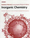Solutions Manual To Accompany Shriver And Atkins Inorganic Chemistry Fifth Edition