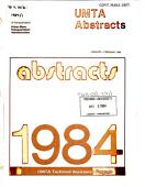 Umta Abstracts