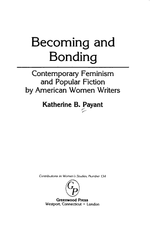 Becoming and Bonding