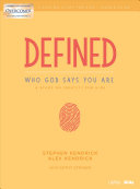 Defined  Who God Says You Are   Leader Guide PDF