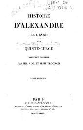 Histoire d'Alexandre le Grand: Volume1