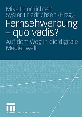 Fernsehwerbung     quo vadis  PDF
