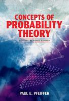 Concepts of Probability Theory PDF