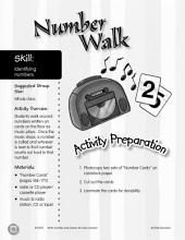 Identifying Numbers--Number Walk Game
