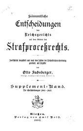 Die Entscheidungen des Reichsgerichts: Band 4