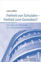Freiheit von Schulden   Freiheit zum Gestalten  PDF