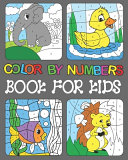 Color By Numbers Book For Kids