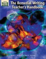 The Remedial Writing Teacher s Handbook PDF