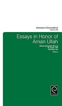 Essays in Honor of Aman Ullah PDF