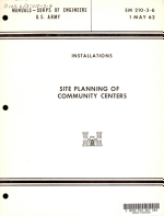 Site Planning of Community Centers