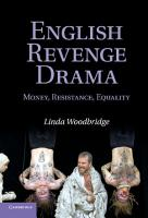 English Revenge Drama PDF