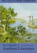 Encyclopedia Of Southern Literature Book PDF