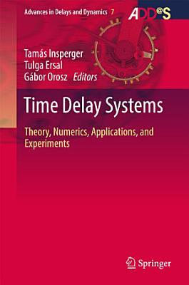 Time Delay Systems PDF