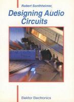 Designing Audio Circuits PDF