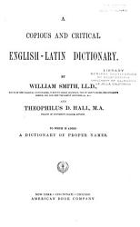 A Copious and Critical English Latin Dictionary PDF