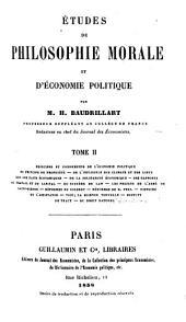 Etudes de philosophie morale et d'économie politique: Volume2